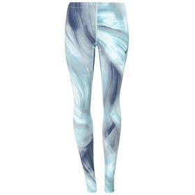 asics Graphic - Pantalon running Femme - gris/turquoise